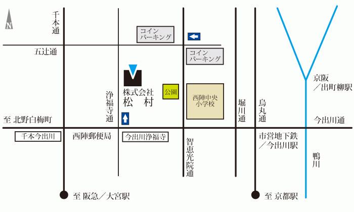株式会社松村 アクセスマップ